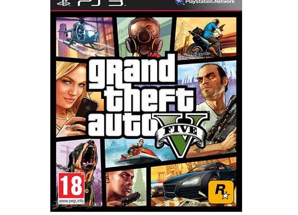 GTA V para PlayStation 3 (DESTAPADO)