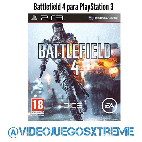 Battlefield 4 para PS3 (DESTAPADO)