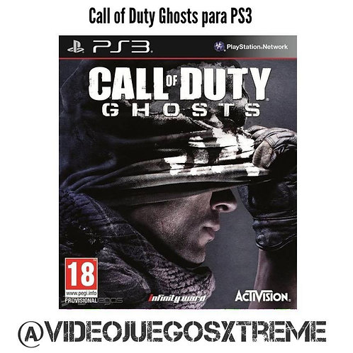 Call of Duty Ghosts para PS3 (DESTAPADO)