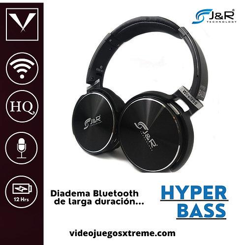 Diadema Hyper Bass Negra