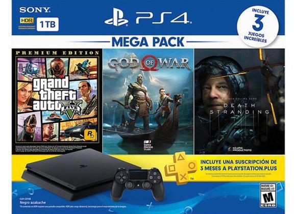 PS4 GTA5+GOD OF THE WAR+DEATH STRANDING