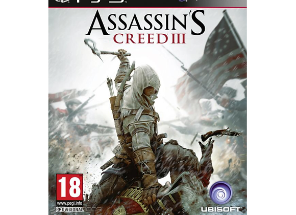 Assassin's Creed III para PS3 (DESTAPADO)