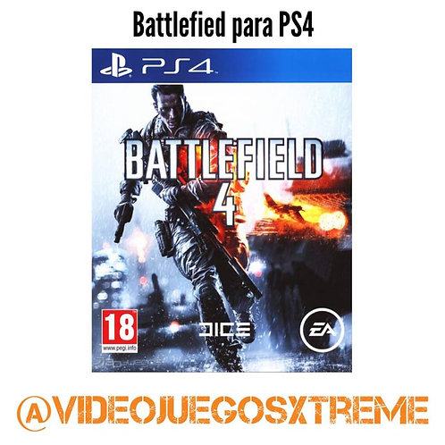 BATTLEFIELD 4 para PS4 (DESTAPADO)
