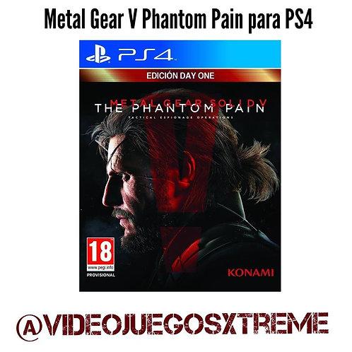 Metal Gear V Phantom Pain para PS4 (DESTAPADO)