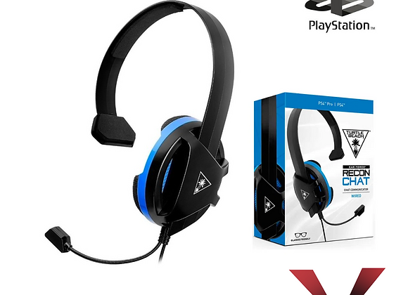 Diadema Recond Chat PlayStation