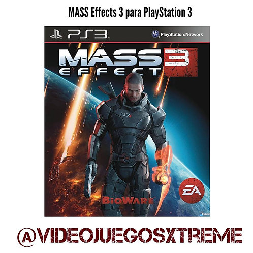 Mass Effect 3 para PS3 (DESTAPADO)