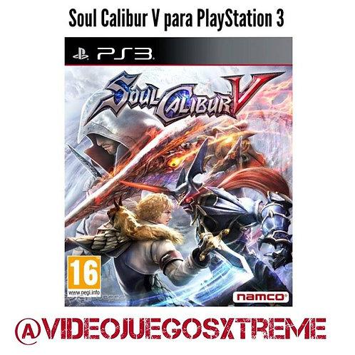 Soul Calibur  V para PlayStation 3 (DESTAPADO)
