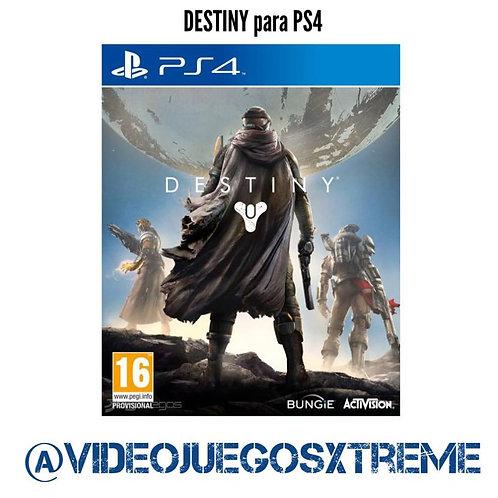 Destiny para PS4 (DESTAPADO)