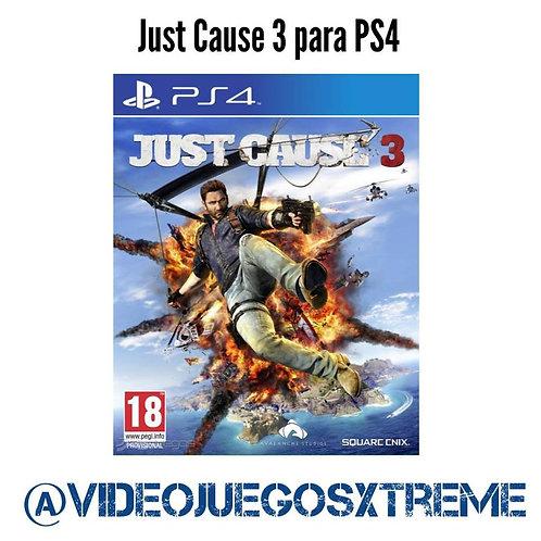 Just Cause 3 para PS4 (DESTAPADO)