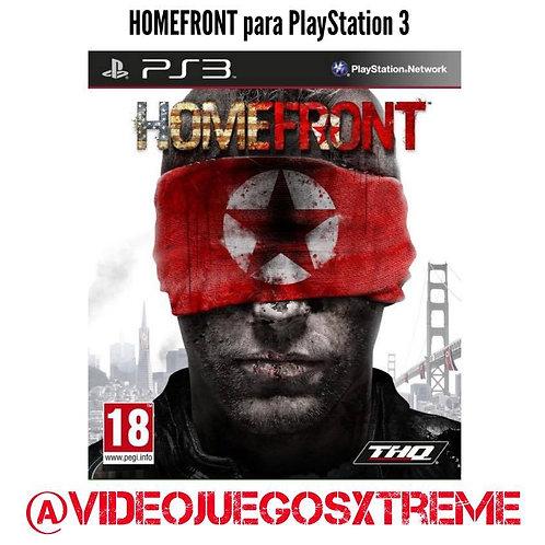 Homefront para PS3 (DESTAPADO)