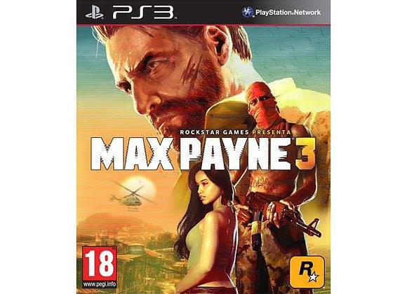 Max Payne 3 para PlayStation 3 (DESTAPADO)