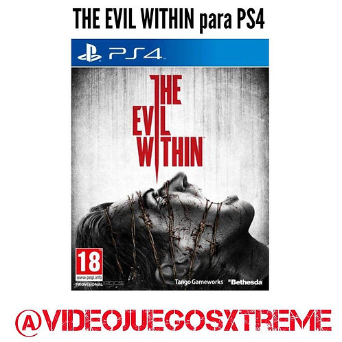 THE EVIL WITHIN para PS4 (DESTAPADO)
