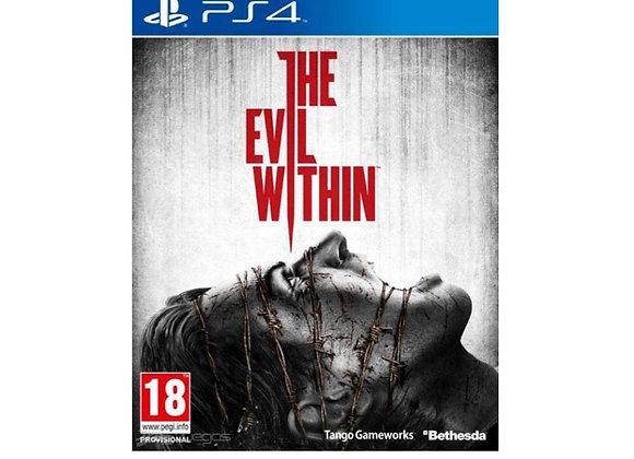 THE EVIL WITHIN para PS4 (DESTAPADO)