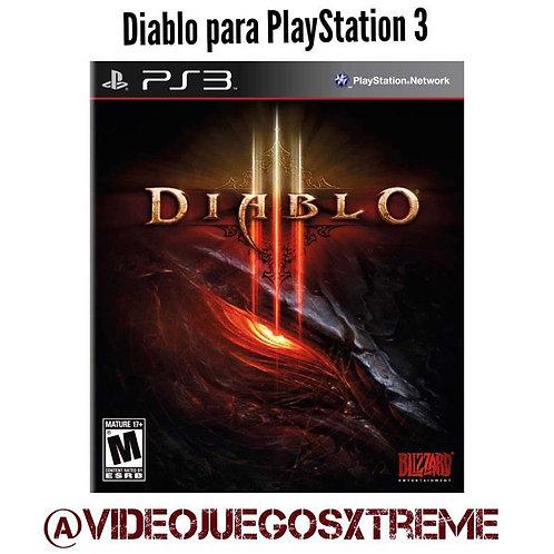 Diablo III para PlayStation 3 (DESTAPADO)