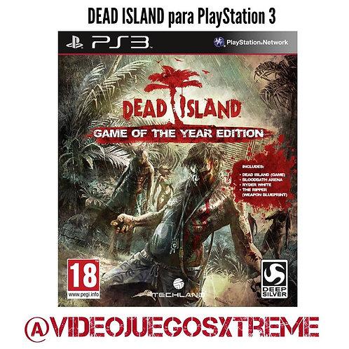 Dead Island para PS3 (DESTAPADO)