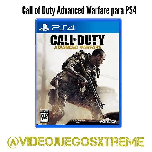Call of Duty Advance Warfare para PS4 (DESTAPADO)
