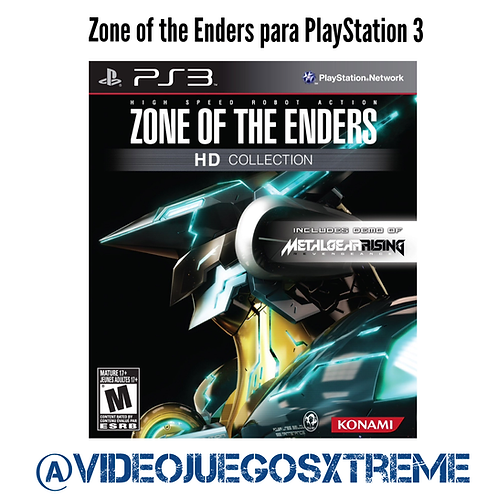 Zone of the Enders PS3 (DESTAPADO)