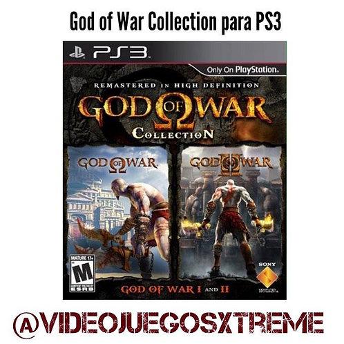 God of War Collection  para PS3 (DESTAPADO)