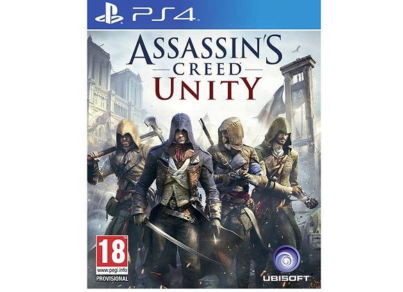 ASSASSIN´S CREED UNITY para PS4 (DESTAPADO)