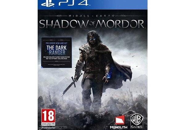 Sombras de Mordor para PS4 (DESTAPADO)