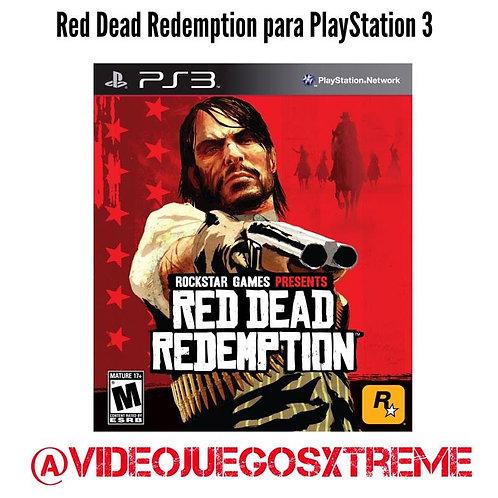 Red Dead Redemption para PlayStation 3 (DESTAPADO)