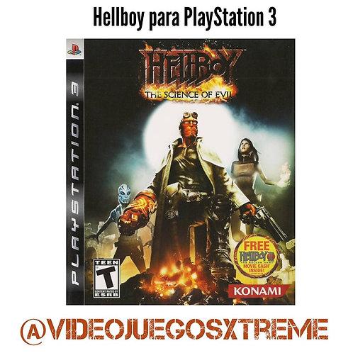 Hellboy para PS3 (DESTAPADO)