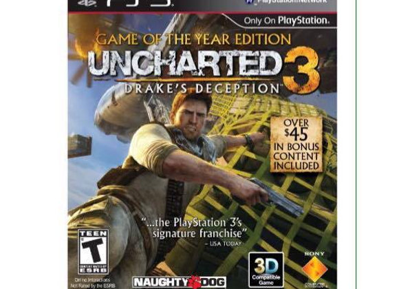 UNCHARTED 3 para PS3 (DESTAPADO)