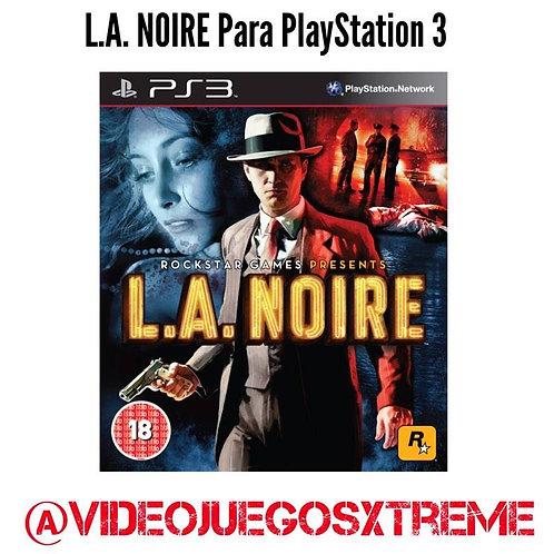 L.A. NOIRE para PlayStation 3 (DESTAPADO)