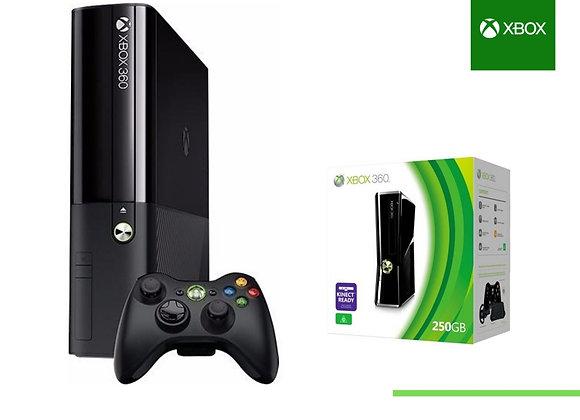 Xbox 360 Super Slim 2 controles + 50 juegos digitales Refurbished