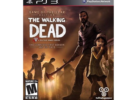 The Walking Dead para PS3 (DESTAPADO)