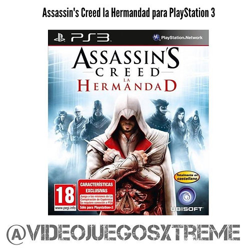 Assassin's Creed La Hermandad para PS3