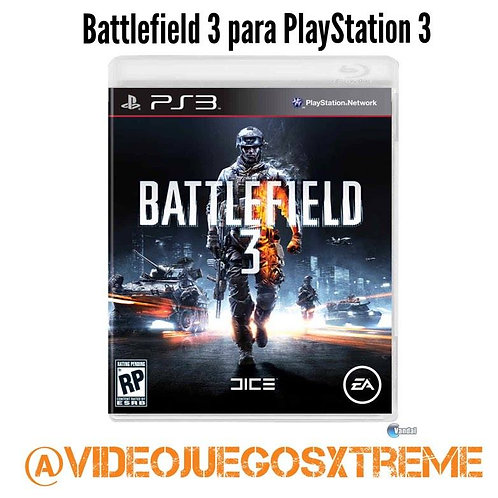 Battlefield 3 pasa PlayStation 3 (DESTAPADO)