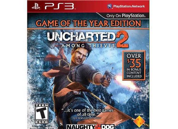 UNCHARTED 2 para PS3 (DESTAPADO)
