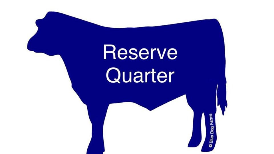 Reserve a Quarter Cow - First Available