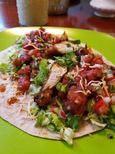 Blue Dog Farms - Crunchy Chicken Soft Taco