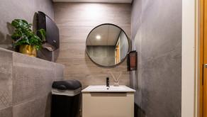 Nye toalett på Alnabrukvartalet