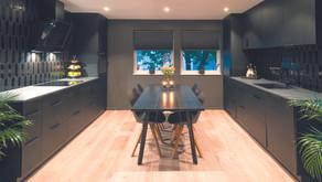Et svart kjøkken på Nesodden?