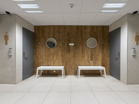 Vi renoverer toalettene på Holmenkollen ski museum