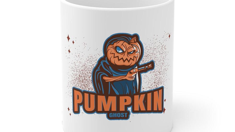 Pumpkin Ghost Halloween Edition Mug 11oz