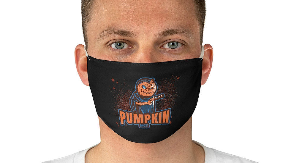 Fabric Face Mask Pumpkin Ghost Halloween Edition