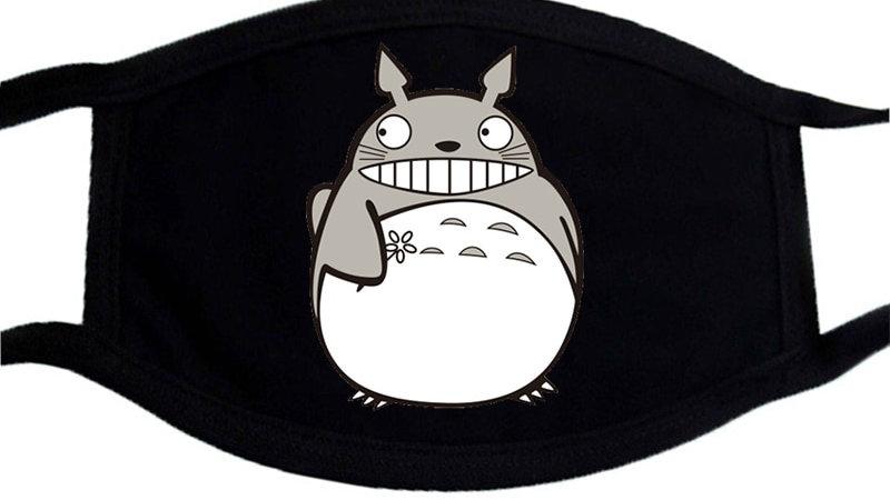 Cartoon Funny Face Mask Dragon Ball Face Masks Washable Unisex Mouth Muffle Mask