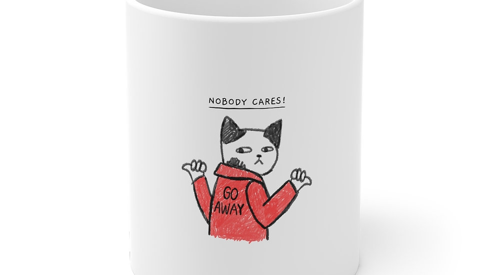 Cat Attitude Mug 11oz