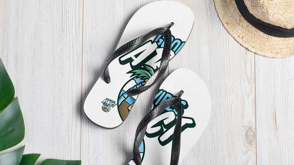 Summer Good Vibes Flip-Flops