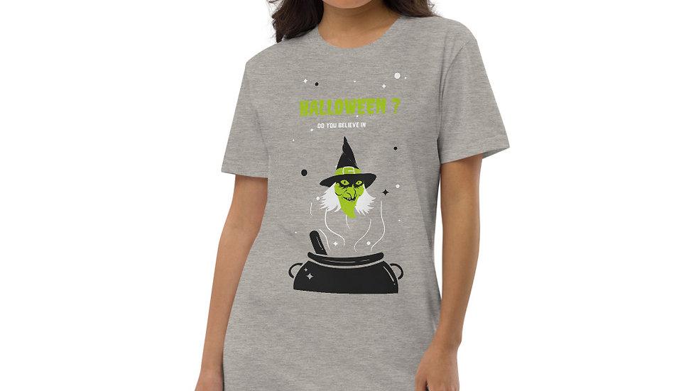 Organic cotton t-shirt dress Halloween Edition