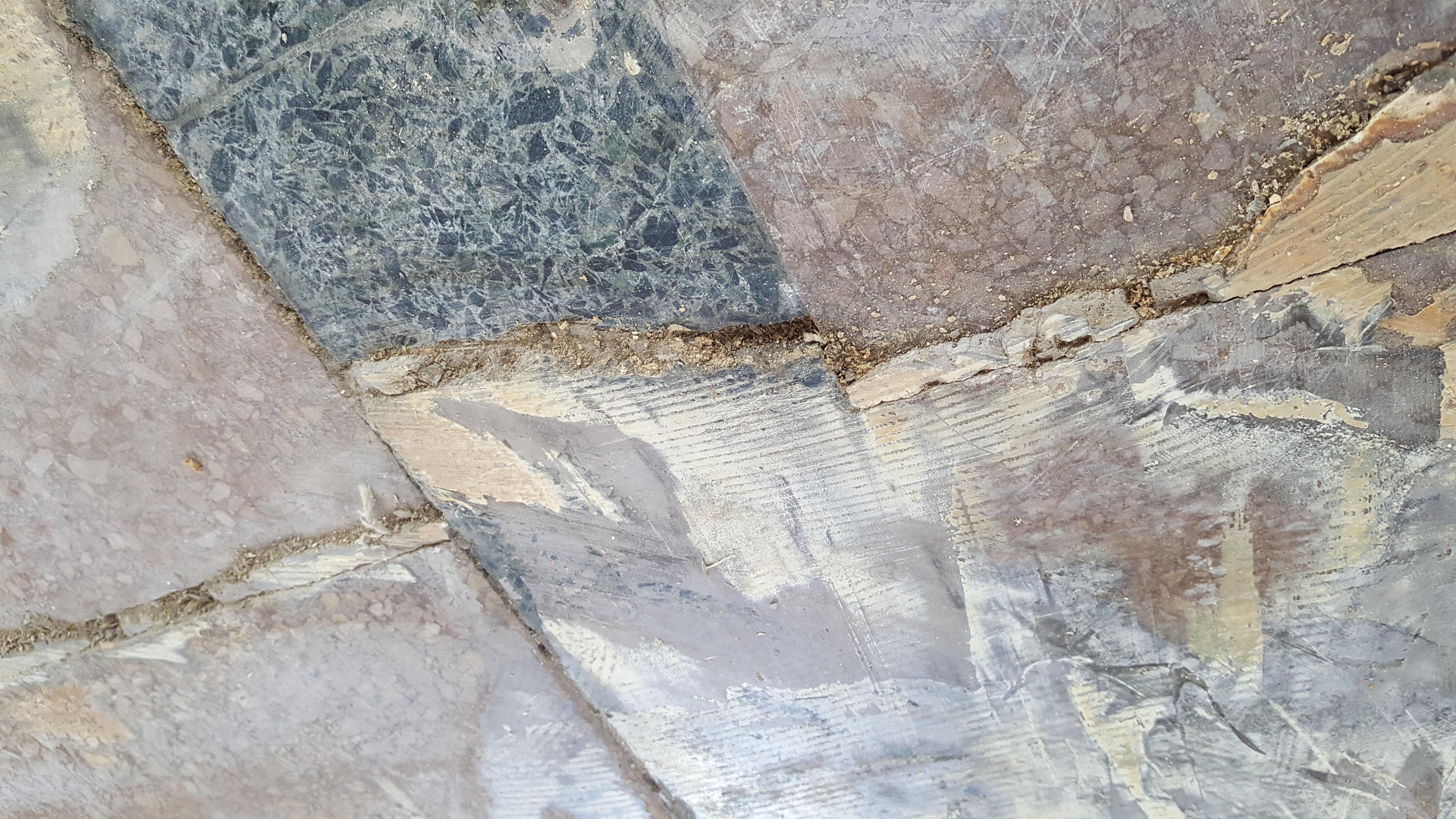 Crack in the Terrazzo