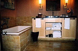 Vanity and Tub Deck