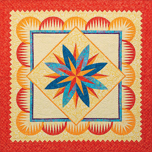 Egyptian Lotus Quilt