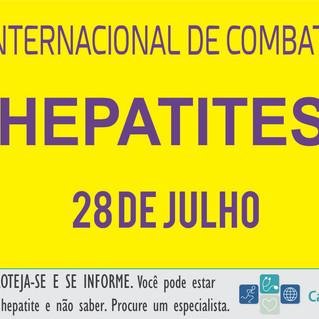 28 de julho | Dia Internacional de Combate às Hepatites Virais