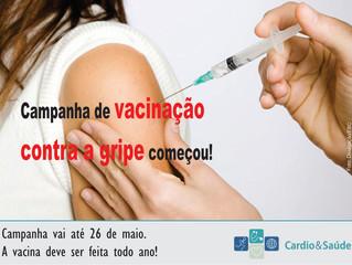 Começou a campanha de vacinação contra a gripe