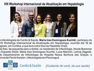 Participação no VIII Workshop Internacional de Atualização em Hepatologia
